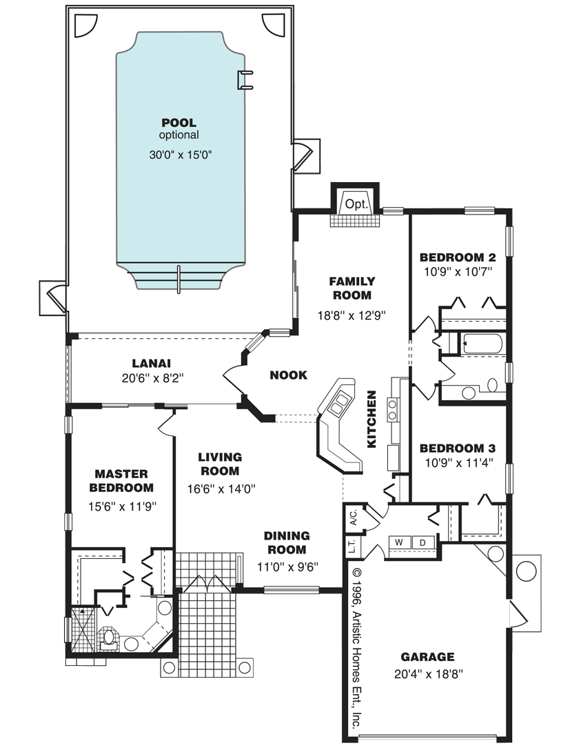 The St. Augustine Home Layout