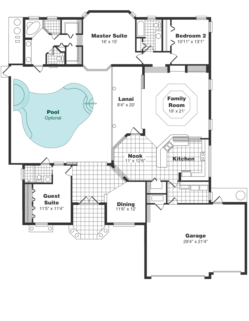 The Grand Bahama Floor Plan