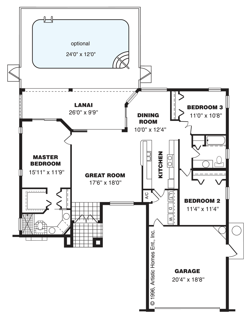 The Key West Home Layout