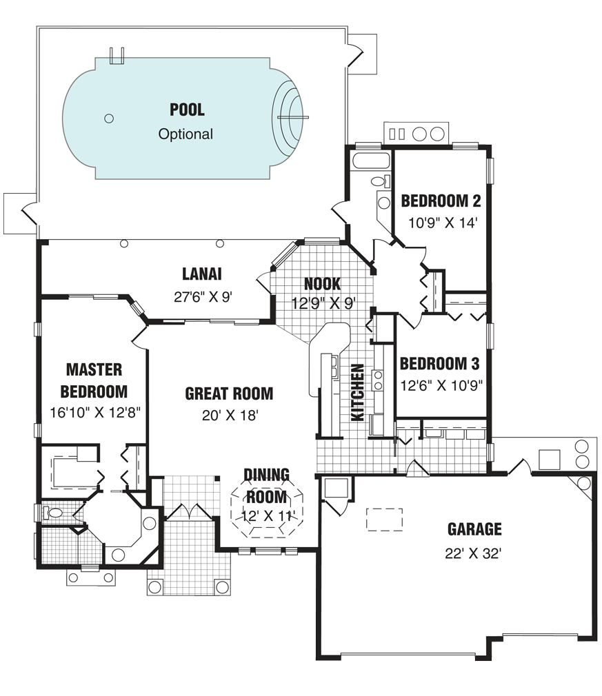 The Rosemont Home Floor Plan