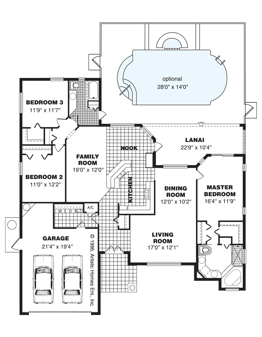 The Palm Beach Home Floorplan